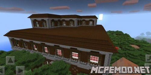 House in the woods mcpe