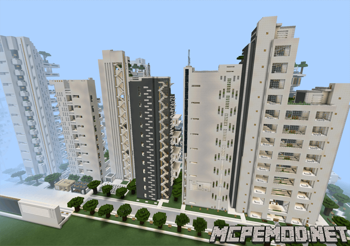 Карта NXUS City – Modern Architecture Series