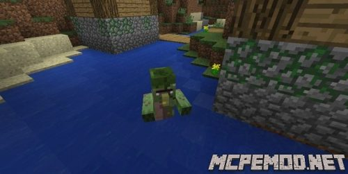 illage residents with zombie spawn seed mcpe