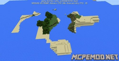 islands for survival seed mcpe