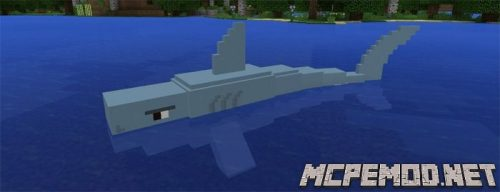 Мод Jaws and Megalodon 1.0/0.17.0/0.16.0