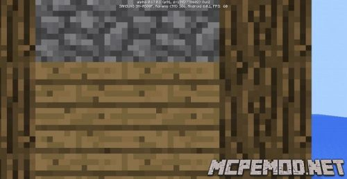 the village with a smithy on the peninsula seed mcpe