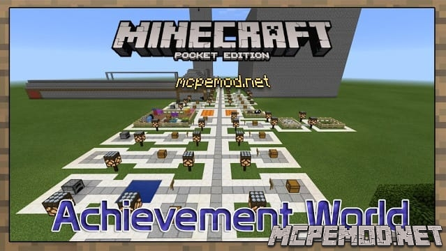 Карта Achievement World MCPE