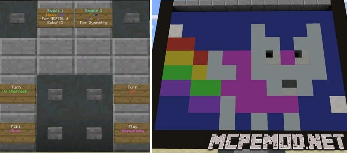 Карта Animation Maker Machine MCPE
