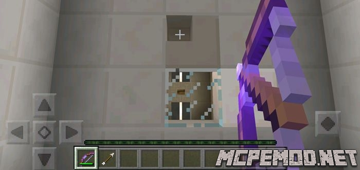 bows and arrows map mcpe