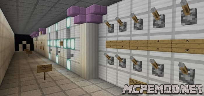 Карта The Most Secure Door MCPE