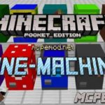 Мод Mine-Machine 1.0.5/1.0.4/1.0