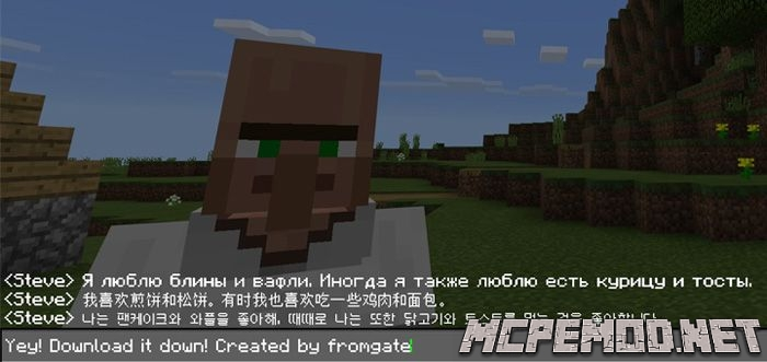 minecraft font texture pack mcpe