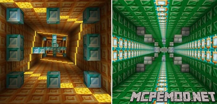 Карта Minigames Central MCPE