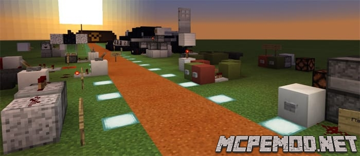 redstone contraptions map mcpe