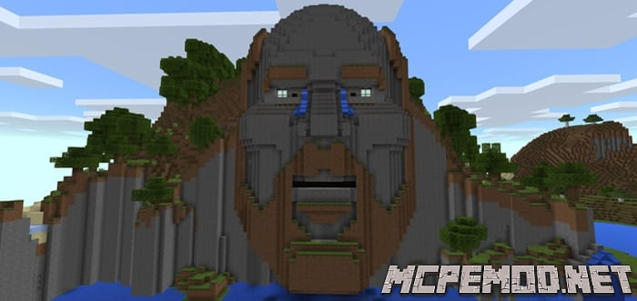 Карта The Temple of Notch MCPE