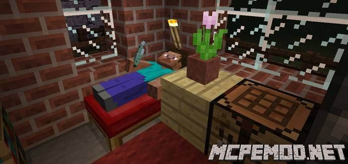 10 small houses map mcpe
