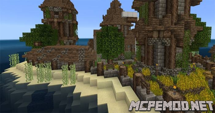 Beyond the Lands texture pack mcpe