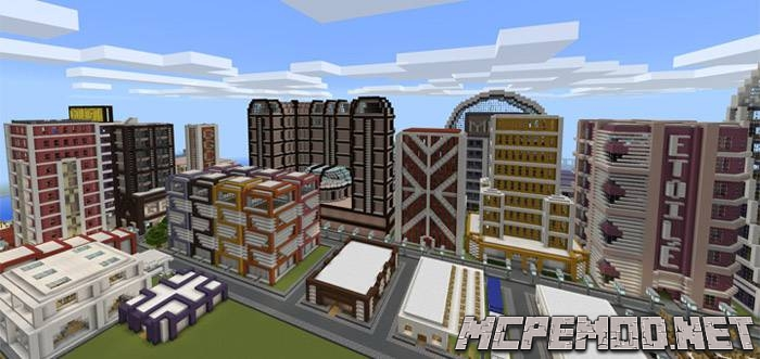 goldenburg city map mcpe