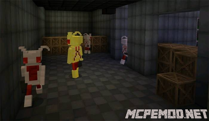 Карта Mechanics Apocalypse MCPE