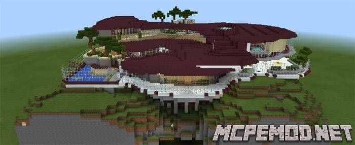 Карта Murder Mystery Mansion MCPE