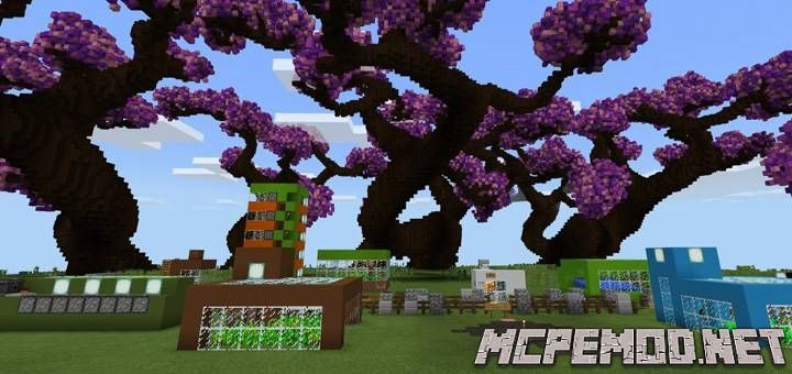Карта 10 Automatic Farms MCPE