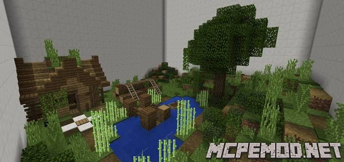 Карта Find The Button MCPE