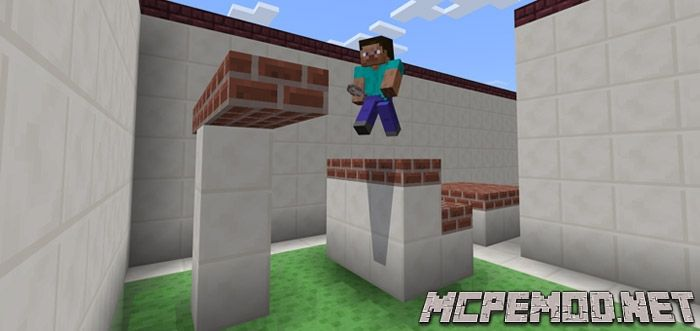 slime parkour map mcpe