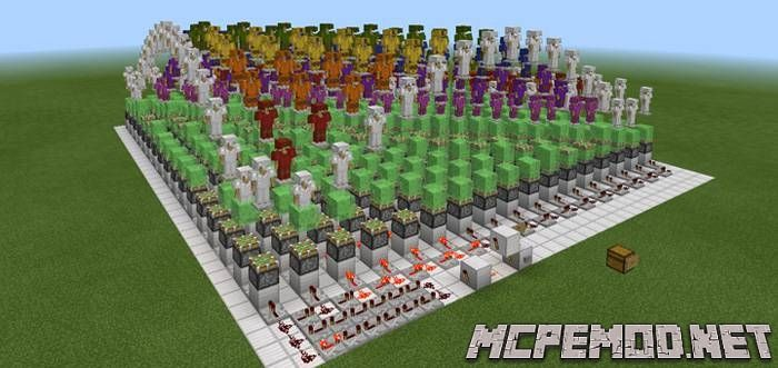armor stand wave map mcpe