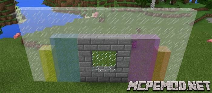 connectable glass texture pack mcpe