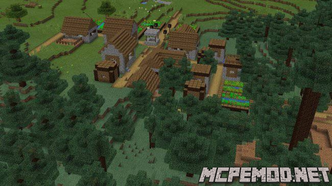 New villages MCPE