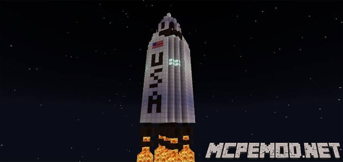 ares i mission to mars map mcpe