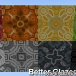Текстур пак Better Glazed Terracotta 1.2
