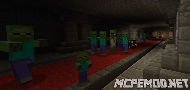 endless tunnel map mcpe