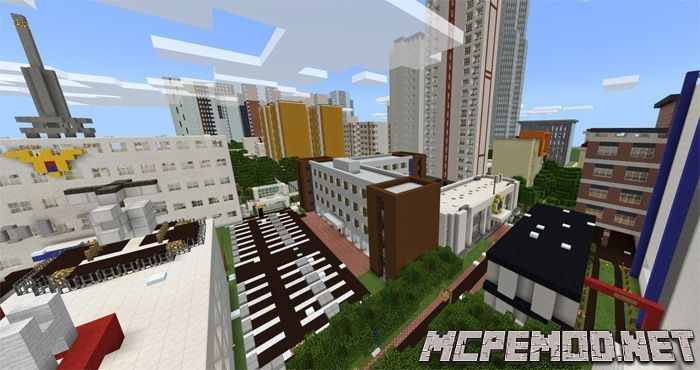 korea anju city map mcpe
