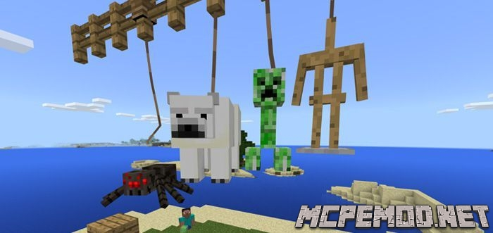 leash plus mod mcpe