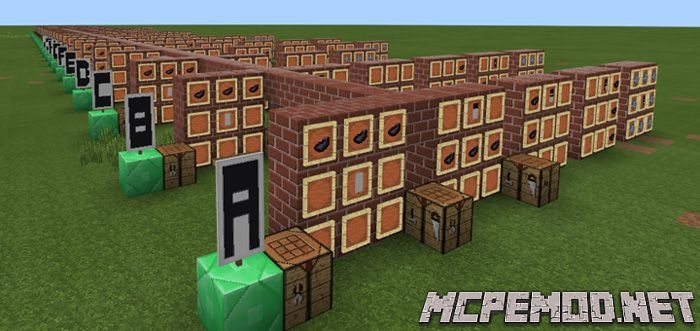 banner letters tutorial map mcpe