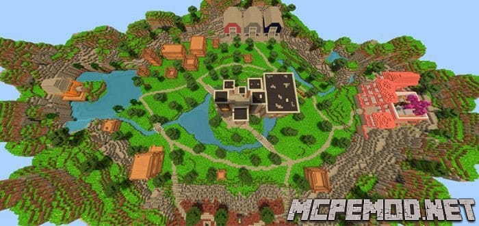 h4 mc fortnite map mcpe