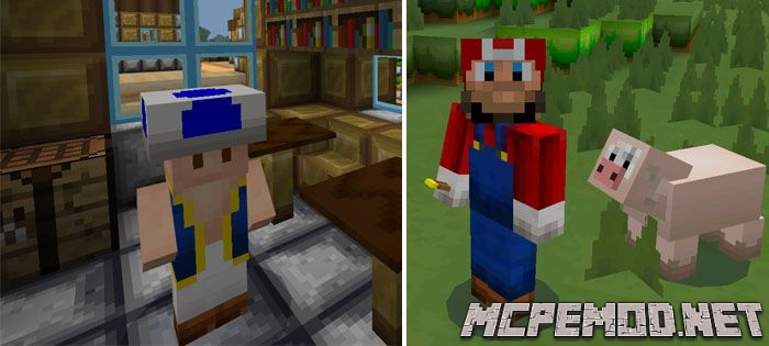 Текстур пак New Super Mario Craft