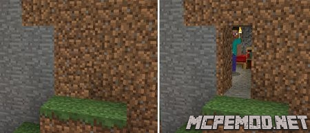 camouflage doors texture pack mcpe