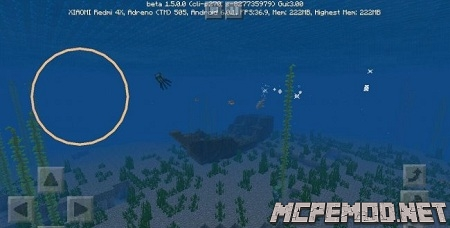 dolphin and fish helper in mcpe