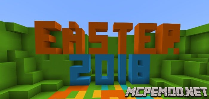 easter parkour 2018 map mcpe