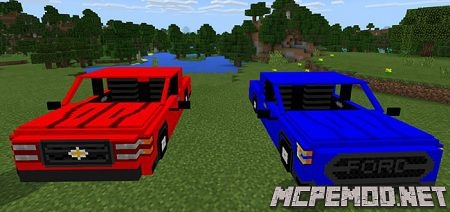 ford chevy mod mcpe
