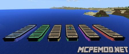 lemo attraction boat mod mcpe
