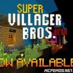 Карта Super Villager Bros [Мини игра]