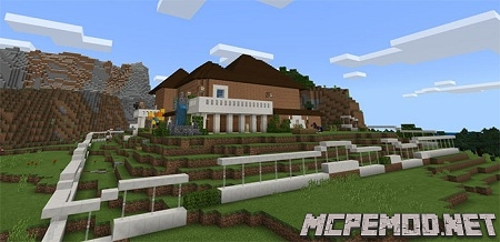 blus redstone house map mcpe