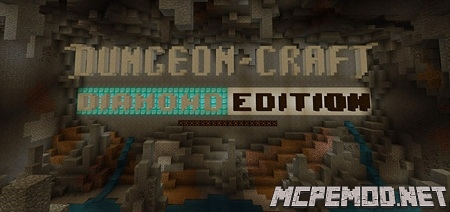 dungeon craft diamond edition map mcpe