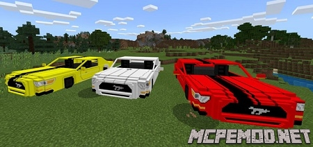 Мод на Ford Mustang GT 2015 1.4/1.3