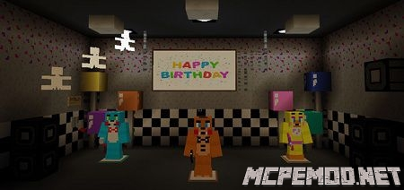 five nights at freddys map mcpe