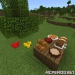 Мод Placeable Food 1.6+