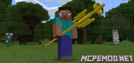 the aether trident mod mcpe