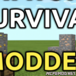 Мод Superflatworld Survival 1.8+